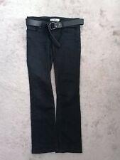 Moto Topshop  Martha Women's Black Straight Leg Jeans Size 12 UK