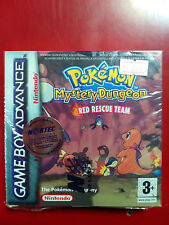 Nintendo Gameboy Advance Pokemon Mystery Dungeon Red Rescue Team Complete VGC