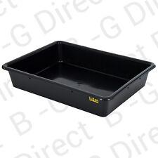 B-G Fluid/Oil/Fuel Drip Drain Spill Tray Pan 28 litre capa 64.5cm x 49.5cm x12cm