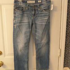 BKE Payton Low Rise Stretch Cropped Jeans sz 28 (32 x 25)