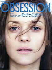OBSESSION 2012: MARION COTILLARD_MATTHIAS SCHOENAERTS_WES ANDERSON