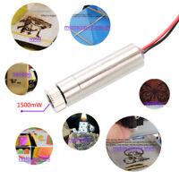 1500mW Laser Diode Head Module 405nm Blue-violet Light 5V for NEJE Engraver
