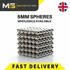 216Pcs 5mm Mini bola de color magnético mágico Cubo Rompecabezas; esfera Imán para adultos