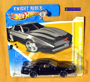 Hot Wheels KITT Knight Rider Trans Am [Premiere] - New/Sealed/XHTF [E-808]