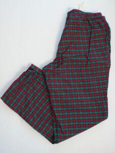 VINEYARD VINES NWOT Men's Red & Green Cotton Flannel Lounge Pant L