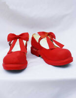 Cardcaptor Sakura Cosplay Shoes Anime Red Boots