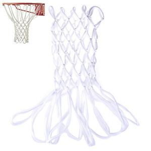 Basketball Net Nylon Non Whip Sports Replacement Rugged Fits standard si.bl