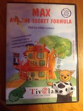 Max and the Secret Formula CD ROM PC WIN / MAC. Educational. Ages 3-7