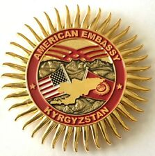 MSG-Det Marine Security Guard Detachment Bishkek Kyrgyz Republic Challenge Coin