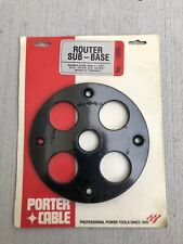 Porter Cable Router Sub-Base No.10695 for 75361 and 75371 router bases