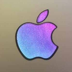 GLOWING PURPLE/TEAL Apple MacBook Pro Air Sticker Laptop DECAL 11,12,13,15,17 in