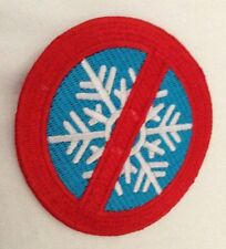 'No Snowflakes' Anti-SJW Circular Patch Tough Embroidered Toxic Masculinity