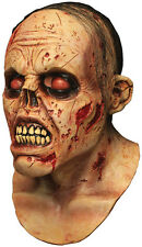 Halloween Costume BLOODY ZOMBIE LURKER LATEX DELUXE MASK Haunted House NEW