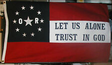 American Civil War Flag, CSA Southern Flag, Stars and Bars, 6th Louisiana Irish