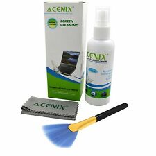 ACENIX Screen Cleaner Kit,iPhone, Computers/Tablet Eyeglass, LED, LCD, TV Travel