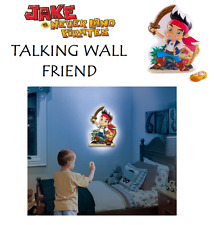Disney JAKE AND THE NEVER LAND Room Light Talking Wall Friend Gift Toy Decal
