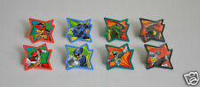 12 Power Rangers Dino Charge Cup Cake Rings Topper Party Goody Bag Favor Supply