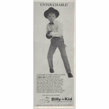 1961 Billy the Kid Clothes: Untouchable Vintage Print Ad