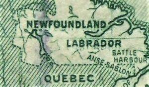 NEWFOUNDLAND #145i  DOUBLED NEWFOUNDLAND &LABRADOR   CAN.SHIP $1.99 COM