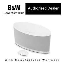 B&W Bowers & Wilkins Z2 Air AirPlay Wireless Speaker with Lightning Dock, WHITE