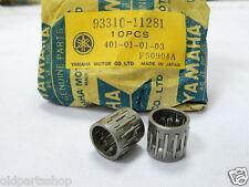Yamaha AS1 YAS2 AS3 TA125 LS2 YL1 RD125 Piston Pin Bearings x2 NOS 93310-11281