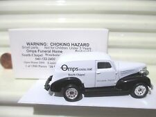 Matchbox 2000 OMPS FUNERAL HOME Winchester VA 1939 Chevrolet Sedan Delivery MiB