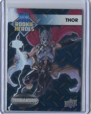 2015 Upper Deck Marvel Vibranium Comic Book Cards - Thor - Rookie Heroes #RH-4