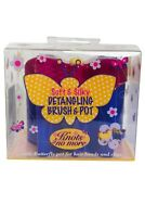 Knots no More Detangling Brush and Pot Soft and Silky
