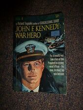 1962 Vintage JOHN F. KENNEDY : WAR HERO by Richard Tregaskis Paperback Book JFK