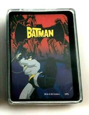 """Batman PLAYING CARDS New in Opened Box (52 CARDS)  3"""" x 2""""  [13]"""