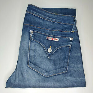 """Hudson """"Bacara"""" Straight Flood Cuffed Jeans W33 L29 Made in USA RRP £265"""