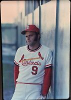 Joe Torre St Louis Cardinals 35mm Baseball Slide 1970's Vtg A1