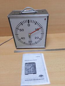 1 x Zentraluhr, Hersteller Phylatex-Physik-Geräte, gebraucht