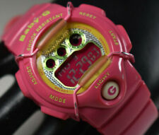 Casio Baby G World Time Digital Ladies Pink Watch BG-1005M-4 NEW BATTERY!
