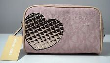 Michael Kors Jet Set Pink Medium Travel/Cosmetic Pouch Case