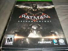 XBOX One Batman game with comic book and statue!