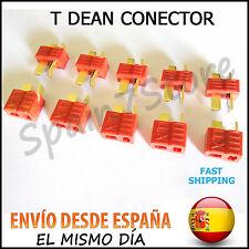 T DEAN 5 Pares (10 unidades) XT REFORZADOS CONECTOR BATERIA LIPO ESC TDEAN DEANS