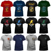 Official Harry Potter Quidditch Slytherin Logo Sorting Hat Gryffindor T-shirt