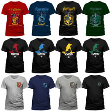 Official Harry Potter Quidditch Slytherin Logo Sorting Hat Gryffindor T-shirt