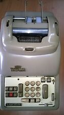 TOTALIA LAGOMARSINO MOD.8561 DEL 1954 VINTAGE CALCULATOR no Olivetti