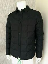 PAUL SMITH BLACK FEATHER & DOWN PADDED SHOWERPROOF JACKET SIZE L RETAIL £275