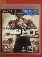 The Fight: Lights Out PS3 Playstation 3 (2010) LN