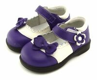 Freycoo Genuine Leather Kids Girls Shoes Purple  Szes: 5 6 7 8 9 10 PB-8031PL