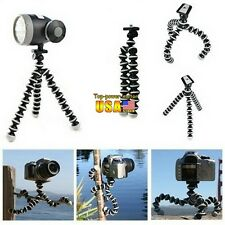 Mini Flexible Tripod Bubble Octopus Stand Gorilla Pod Go-pro Camera /SLR /DV US