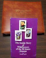1992 Wildflowers set of 50 Sc 2647-96 binder & book, Fleetwood