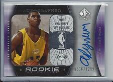 ANDREW BYNUM 2005-06 SP AUTHENTIC TRUE RC AUTO #D 536/1299 IN GREAT SHAPE!