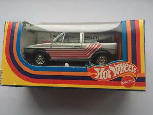 Volkswagon Golf Cabriolet 1979 - Hot Wheels Mattel  rare