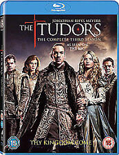 Tudors Complete Season 3 Blu ray Jonathan Rhys Meyers UK Release New Sealed R2