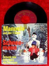 Single Manuela & 5 Dops Schneemann