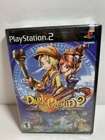 Dark Cloud 2 Playstation 2 PS2 Black Label Brand New Factory Sealed